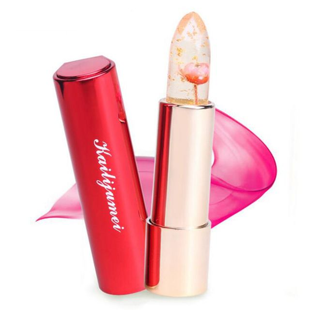 Brand kailijumei magic color buy now temperature change moisturizer bright surplus lipstick lips care jelly flower lipstick buy now on aliexpress