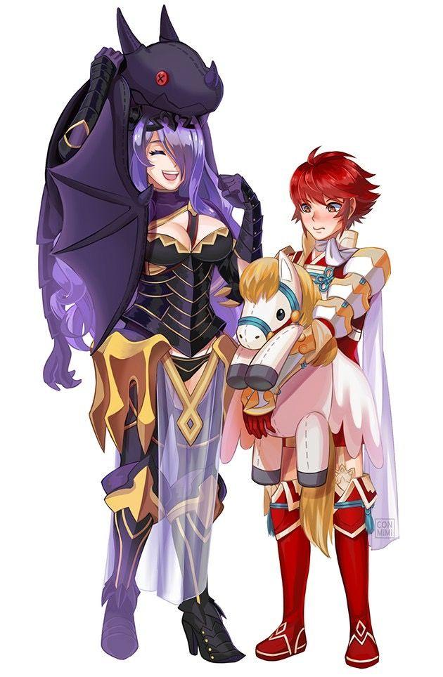 Cute! Fire Emblem Fates - Camilla & Hinoka