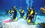 Cancun attractions include Scuba diving lessons in Cancun