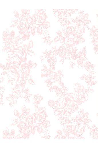 Decor Maison Hvid/rosa Queen 3226 tapet