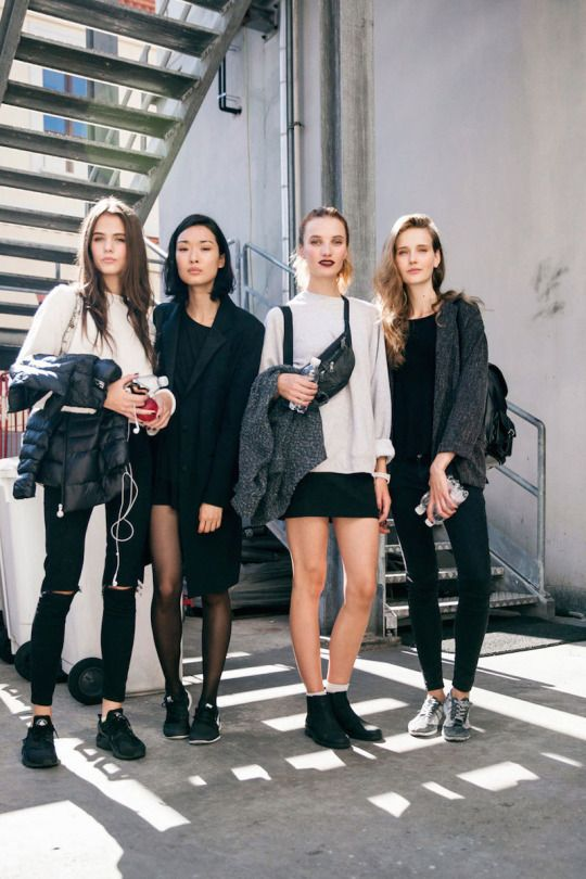 We love this | Master the model off duty look with quality basics…