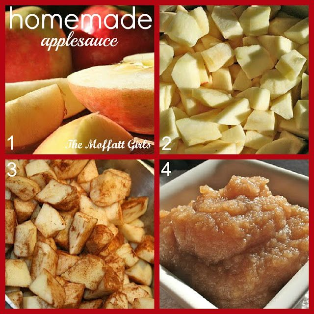 We love making homemade applesauce in the Fall! Such a great practical life skill exercise!