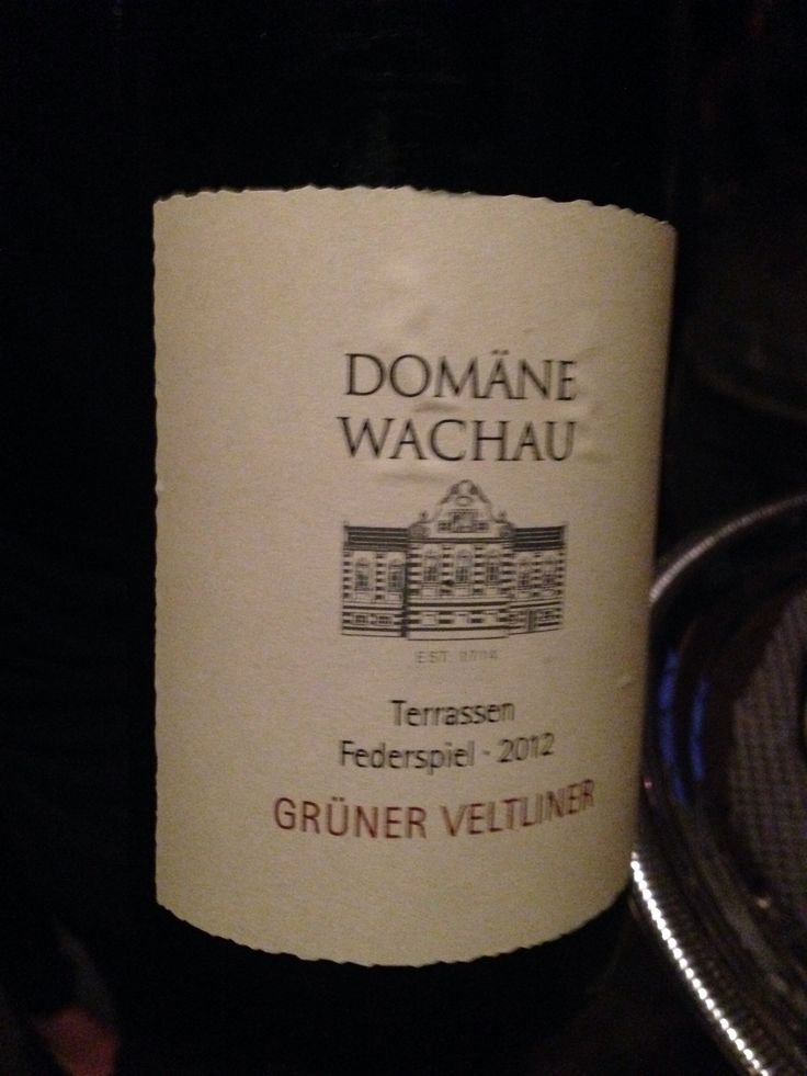 Austrian white wine that I had at the Hawthorne - dry and delicious