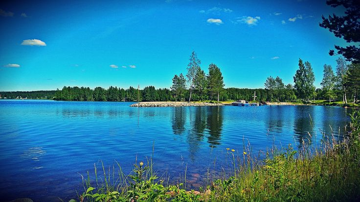 🌿 #nature #sky #clouds #trees #grass #lake #photo #pic #photography #Twitter #travel #art #sweden #adventure #my #memories #love #message 💌