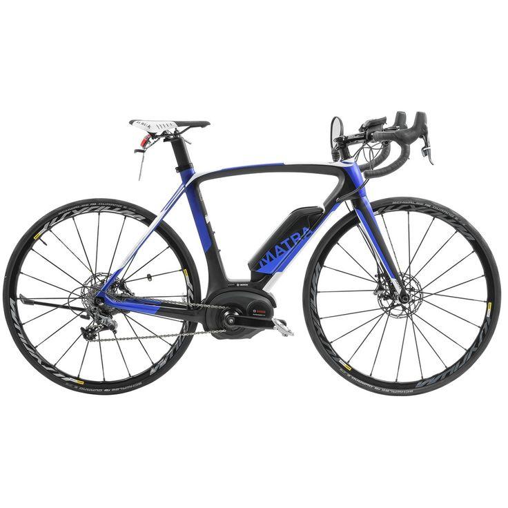 Le vélo de course électrique de plus léger du marché.