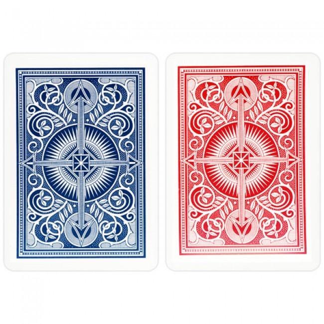 De beste pokerkaarten die er de koop zijn, KEM kaarten model Arrow, komen uit de Verenigde Staten van Amerika. KEM speelkaarten worden gemaakt door The United States Playing Card Company uit de USA.