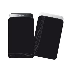 Husa Cellularline BKCLEANSLGTABBK Black pentru Samsung Galaxy Tab P1000