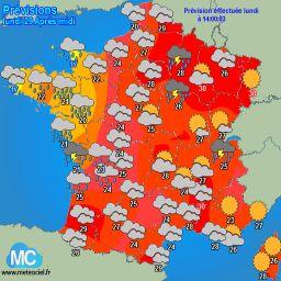 Meteociel - Tendances météo pour Saint-Martin-de-Crau ( 13310 )