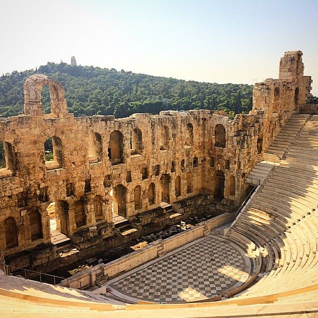 Theater of Dionysus  Photo credits: @mrsmhun