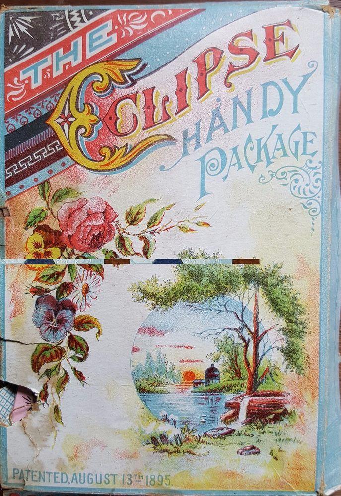 Vintage Brabant's Large Folding Needle Book, Patent August 13, 1895 #EnglishandAmerican