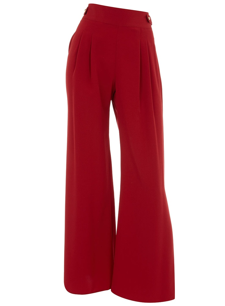 Red palazzoLegs Red, Ideas, Pretty Clothing, High Waist, Palazzo Pants, Red Palazzo, Size Style, Palazzo Trousers, Fashion Mi Style