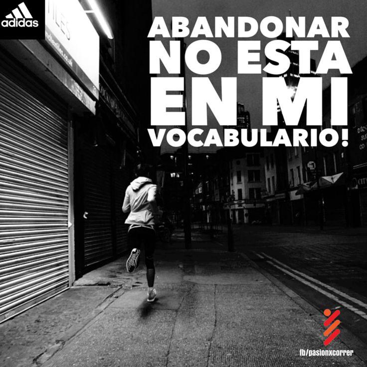 Correr?! No es un deporte para cualquiera, no es una moda, no son el reloj, las tenis de colores, la ropa. Correr es no rendirse, es una forma de vida.