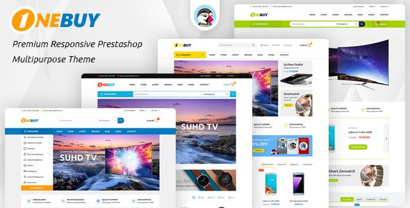 JMS OneBuy is an extremely powerful and flexible premium Prestashop theme with responsive