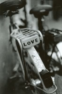 Love Bikes, Black and White Photography