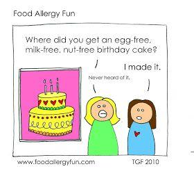 """Food Allergy Fun: Food Allergy Fun, """"Never heard of it."""" #foodallergies #foodallergy"""
