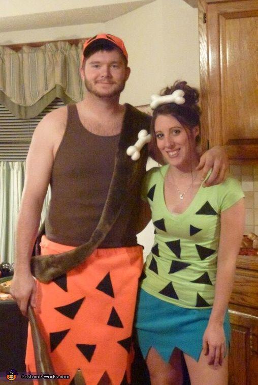 Bamm-Bamm and Pebbles Costume