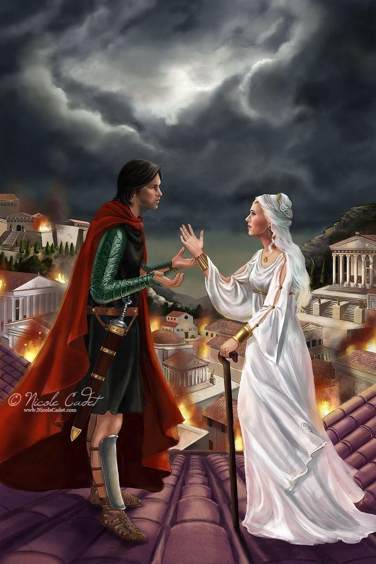 Spirit of the sword - Faith and Virtue by NicoleCadet.deviantart.com on @DeviantArt