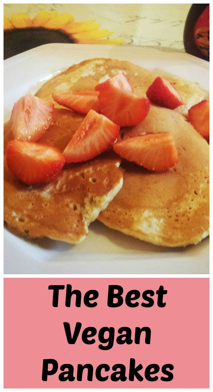 American style vegan pancakes are and easy egg free and dairy free breakfast and perfect wtih your favourite topping