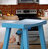 How to Paint Unfinished Wood Furniture (click through for the video & step-by-step instructions)