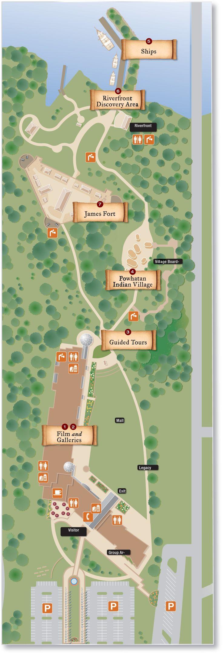 Jamestown Settlement | Jamestown Settlement Map & Directions