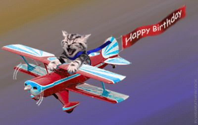 Animated Clip Art | Happy Birthday pictures that move, animated cake and party clip art