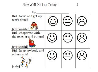 behavior charts for preschoolers template - preschool behavior charts printable printable