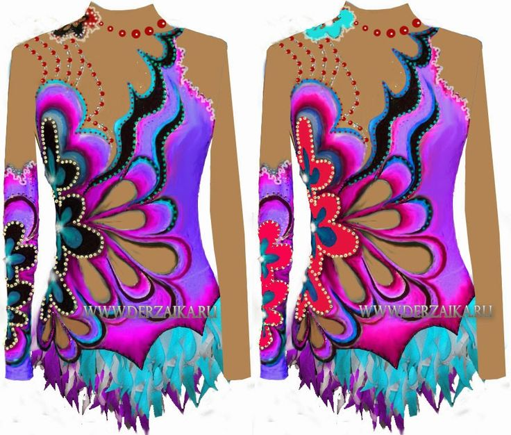 GYMNASTICS LEOTARDS NEW SKETCHES