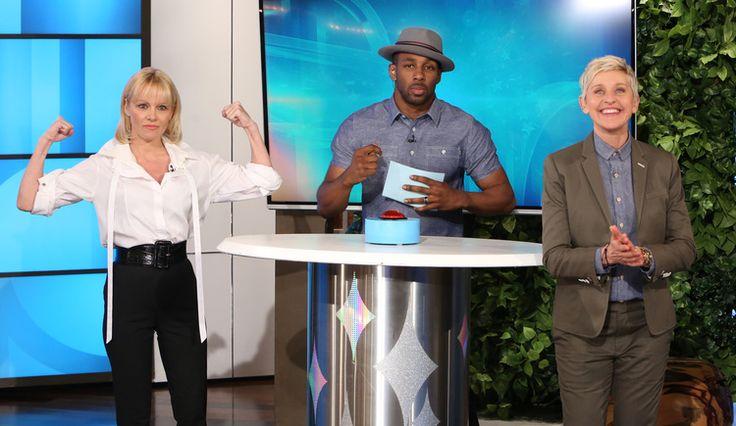 The Ellen DeGeneres Show: The place for Ellen tickets, celebrity photos, videos, games, giveaways and more. | EllenTV.com