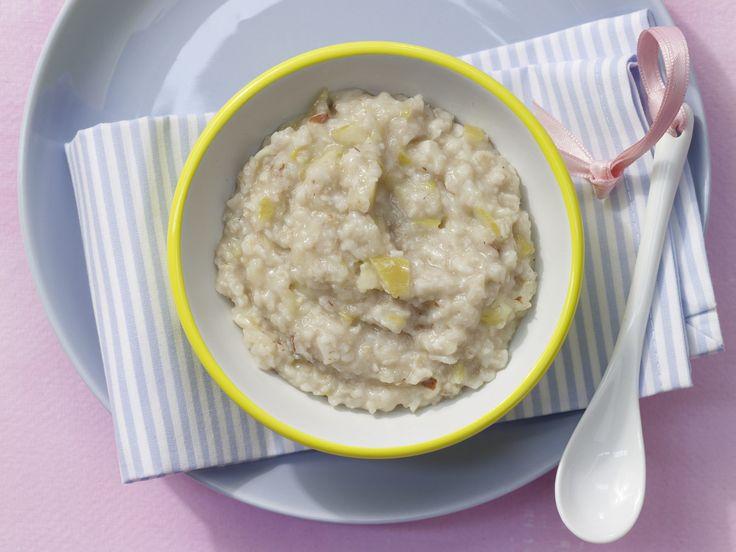 Apfel-Mandel-Brei mit Haferflocken - Nachmittagsbrei ab 7. Monat (milchfrei) - smarter - Zeit: 15 Min. | eatsmarter.de