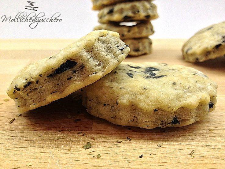 #Biscotti alle #olive - Molliche di zucchero
