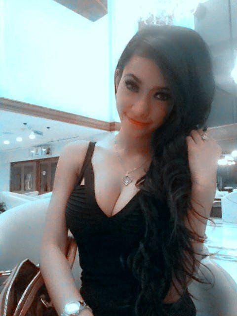 wisbenbae: Amel Alvi in Black Dress