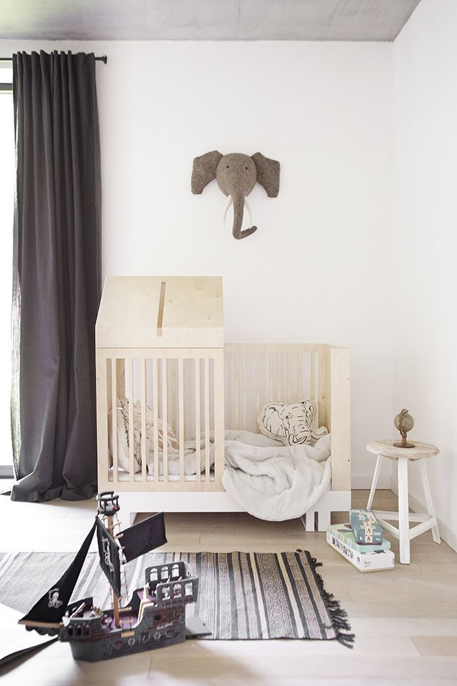 By our elephant head hang: compass, binoculars or telescope, Safari or cowboy hat, vintage camera, Grandma's old toy suitcase as a shelf? T.D.C | Kutikai: Creative Furniture for Kids