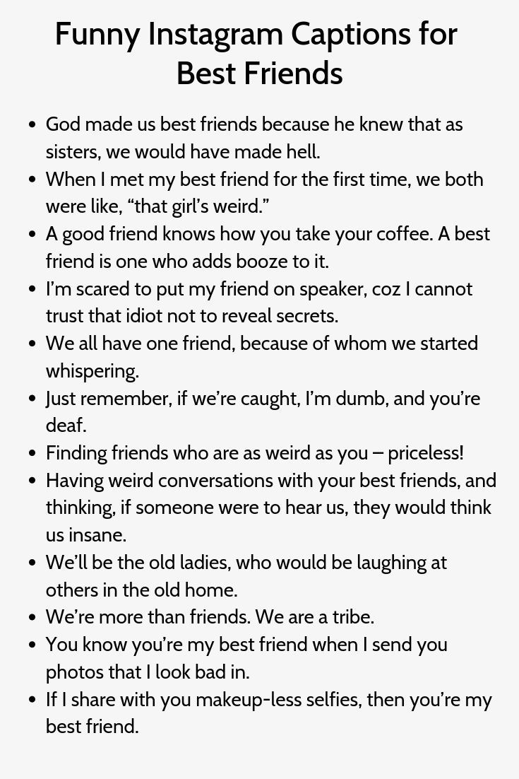 Funny Instagram Captions For Best Friends Captions Friends Funny Instagram Funny Instagram Captions Instagram Captions Instagram Captions Clever