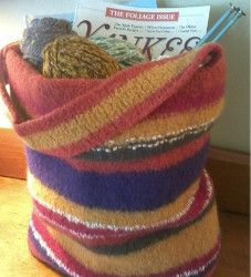 Knitted Bags For Beginners : ... bags knit bag free knitting free pattern knitting patterns market bag