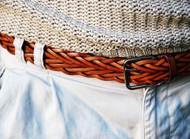 #atelierparticulier #ceinture #cuir #marron #details #handmade #madeinFrance #madeinItaly #luxe