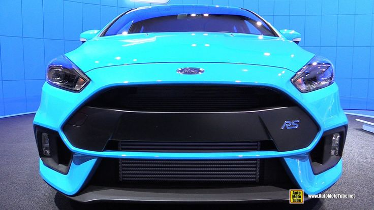 2016 Ford Focus RS - Exterior and Interior Walkaround - 2015 New York Au...