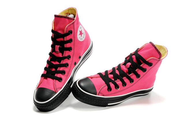 Converse All Star Double Tongue High Top Cherry Canvas Limited Edition