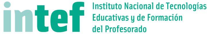 Logotipo del INTEF - Instituto Nacional de Tecnologías Educativas y de Formación del Profesorado