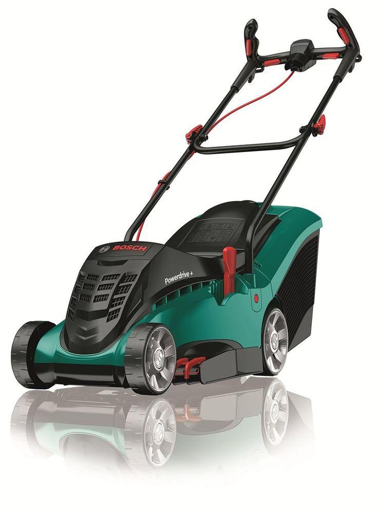 Electric Rotary Lawn Mower Bosch Rotak 37 Ergoflex Cutting Width 37 cm