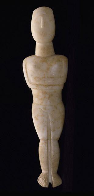 Female Figurine Date: circa 2500-2400 B.C.E. .Cycladic Artist: Steiner Master North Carolina Museum of Art
