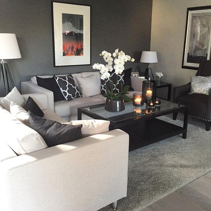 Best 20 cream living rooms ideas on pinterest christmas for Black and cream living room ideas