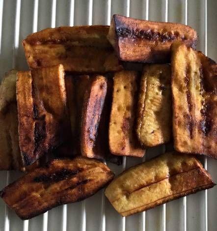 Plátanos Machos Maduros Fritos