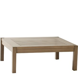 """Alyssa Coffee Table BY PARKER JAMES D 38"""" W 38"""" H 18""""  Black Walnut or Weathered"""