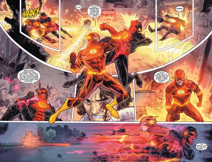 New 52 Flash vs Reverse-Flash