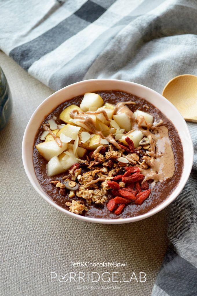 Teff&ChocolateBøwl – Mon pørridge crémeux de Teff sans gluten