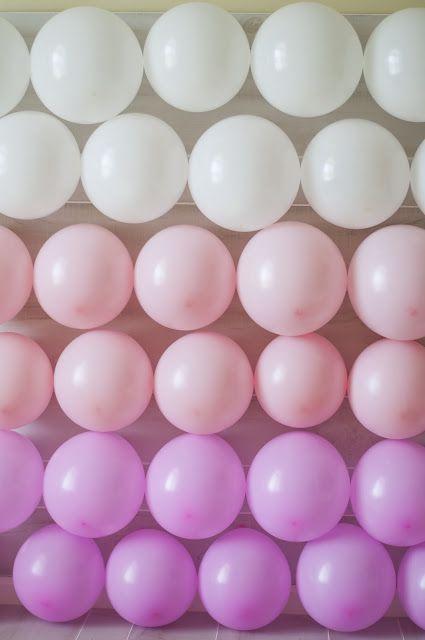 Brunch In Omaha: Ombre Balloon Backdrop!