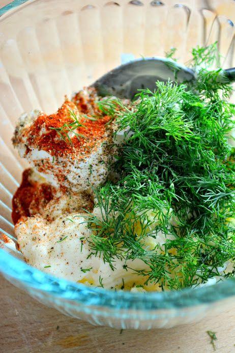 Creamy Wasabi Dill Sauce | builicious