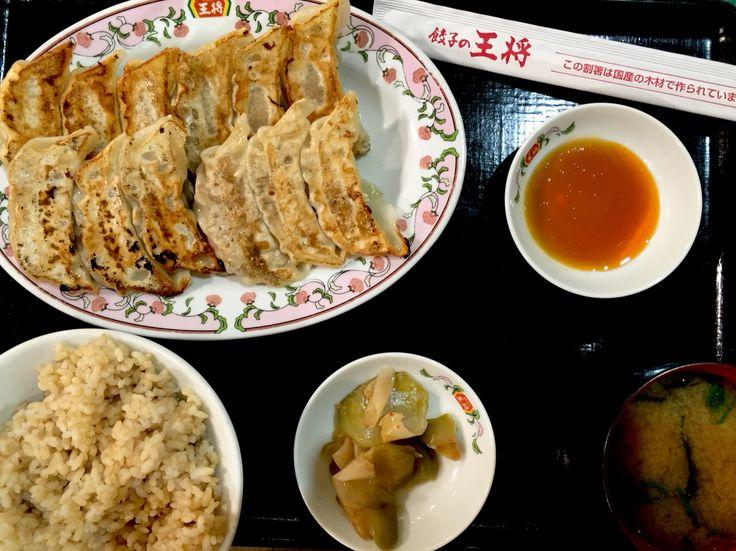 餃子定食Wダブル アリオ亀有フードコート店