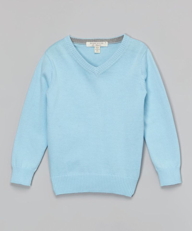 Light Blue Sweater - Toddler & Boys by Richie House #zulily ...
