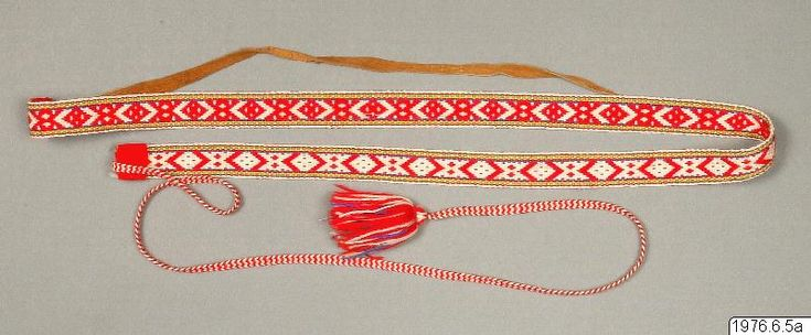 shoe lace from Lapland